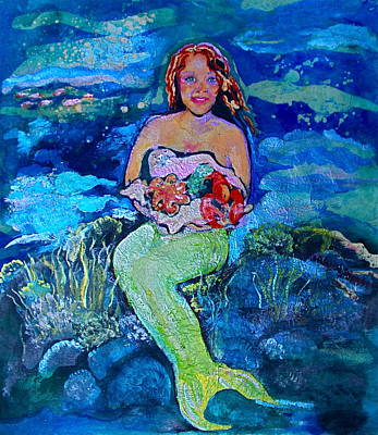 Painting - Maria La Mer by Julie Komenda