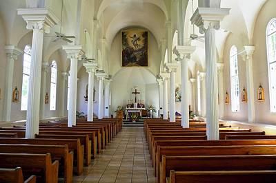 Photograph - Maria Lanakila Church Interior by Kirsten Giving