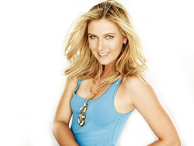 Maria Sharapova Digital Art - Maria Sharapova 7 by Evelyn Love