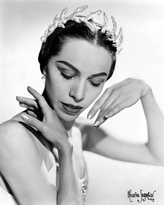 Maria Tallchief, Ballerina Art Print by Everett