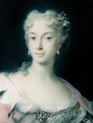 Maria Theresa, Archduchess Of Habsburg Art Print
