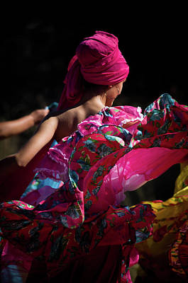 Mariachi Dancer 4 Art Print by Swift Family