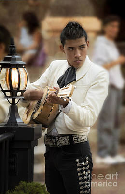 Stock Male Photograph - Mariachi Performer by Juli Scalzi