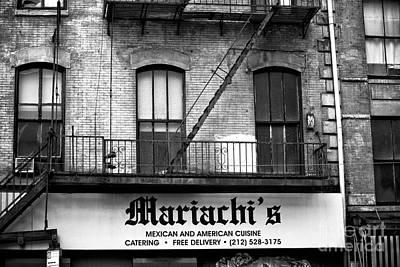 Photograph - Mariachi's New York City by John Rizzuto