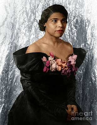 Photograph - Marian Anderson by Granger