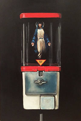 Marian Apparitions- 5 Cents Original