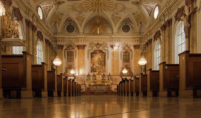 Photograph - Marianische Mannerkongregation Munich by Jebulon
