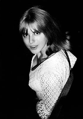 Photograph - Marianne Faithfull 1964 by Chris Walter