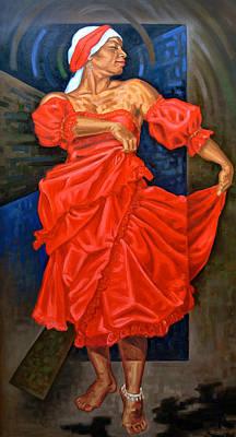 Bomba Painting - Maribella by Samuel Lind