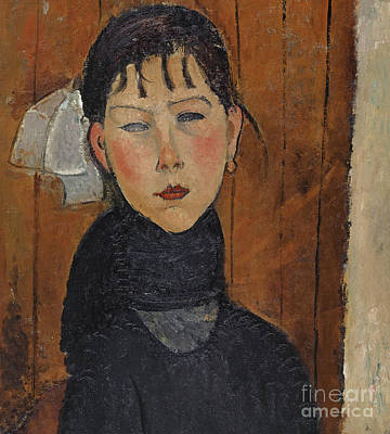 Painting - Marie, Daughter Of The People, 1918 by Amedeo Modigliani