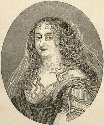 Marie De Rabutin-chantal, Marquise De S Art Print by Vintage Design Pics