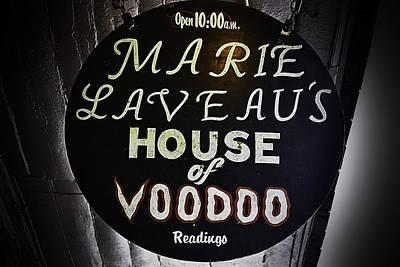 Voodoo Shop Photograph - Marie La Veau's House Of Voodoo by Nadalyn Larsen