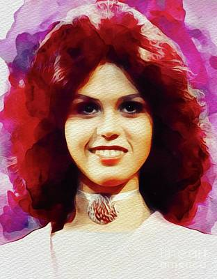 Rock And Roll Paintings - Marie Osmond, Music Legend by John Springfield
