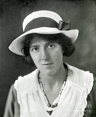 Social Darwinism Photograph - Marie Stopes, Birth Control Advocate & by Wellcome Images