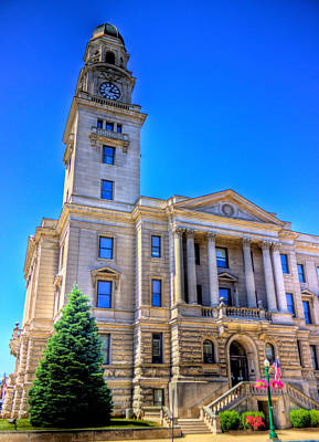 Photograph - Marietta Courthouse by Jonny D