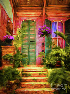 Creole Cottage Wall Art - Photograph - Marigny Home Art--nola by Kathleen K Parker