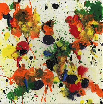 Painting - Marigold Mayhem by Phil Strang