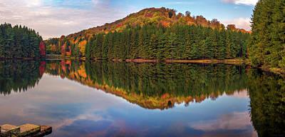 Photograph - Marilla Reservoir 2 by Mark Papke
