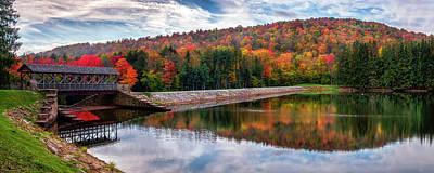 Photograph - Marilla Reservoir by Mark Papke