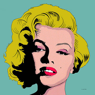 Digital Art - Marilyn-1 by Marlene Watson