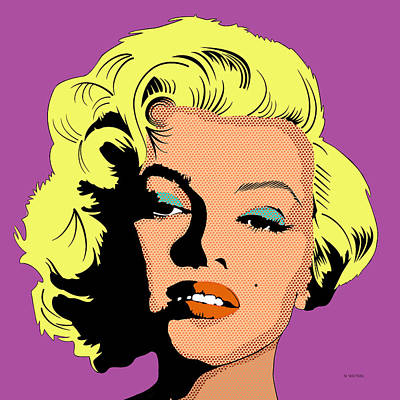 Digital Art - Marilyn-2 by Marlene Watson