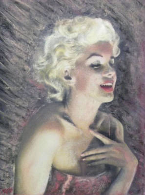 Painting - Marilyn And The Joy Of Chanel by Richard James Digance