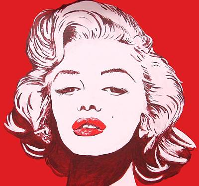 Painting - Marilyn by Bob Gregory