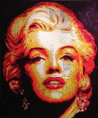 Painting - Marilyn - Castillo by Havi