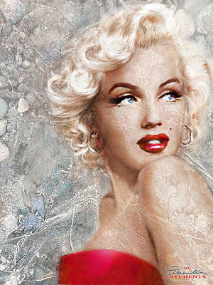 Painting - Marilyn Danella Ice by Theo Danella