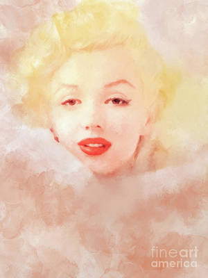 Mixed Media - Marilyn by David Millenheft
