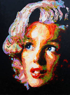 Painting - Marilyn First by Havi