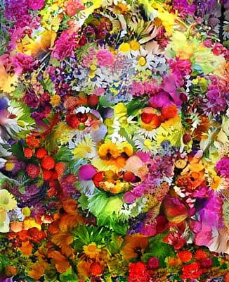 Painting - Marilyn Flower by Paul Van Scott