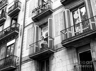 Photograph - Marilyn In Barcelona by John Rizzuto