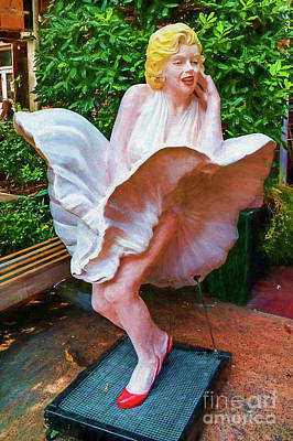 Photograph - Marilyn In Savannah 7393vcti by Doug Berry