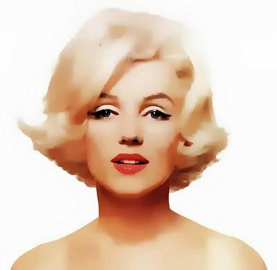 Photograph - Marilyn by Joseph Frank Baraba