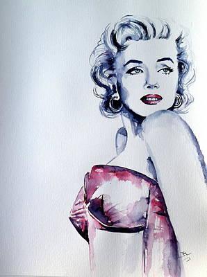 Painting - Marilyn by Kovacs Anna Brigitta