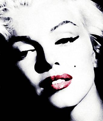 Digital Art - Marilyn by Laurence Adamson