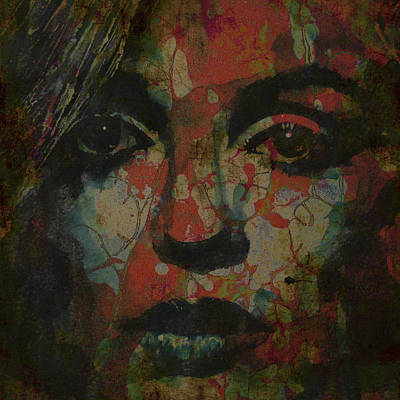 Marilyn Monroe @ I Need You Art Print by Paul Lovering