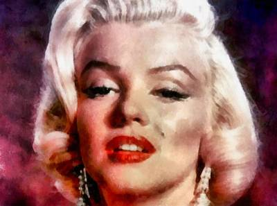Digital Art - Marilyn Monroe 12 by Marilyn Monroe