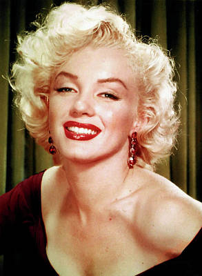 Digital Art - Marilyn Monroe 16 by Marilyn Monroe