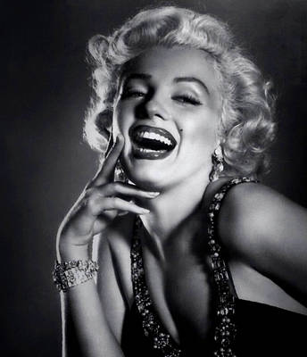 Digital Art - Marilyn Monroe 17 by Marilyn Monroe