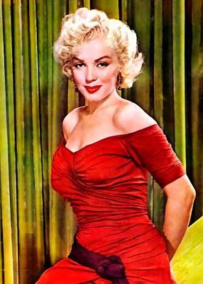Digital Art - Marilyn Monroe 20 by Marilyn Monroe