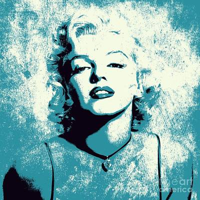Digital Art - Marilyn Monroe - 201 by Variance Collections
