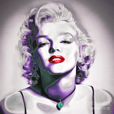 Sex Symbol Photograph - Marilyn Monroe 20151218 Square by Wingsdomain Art and Photography