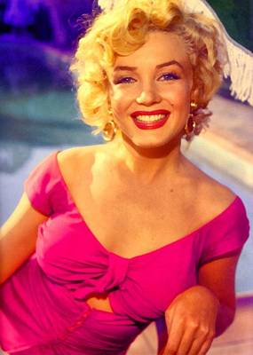 Digital Art - Marilyn Monroe 22 by Marilyn Monroe