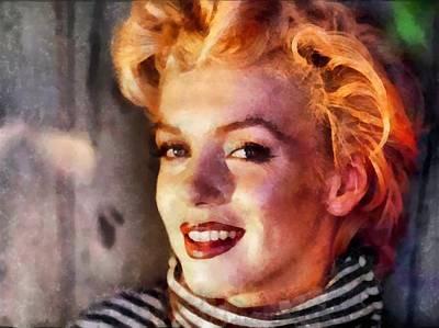Digital Art - Marilyn Monroe 23 by Marilyn Monroe