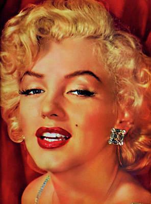 Digital Art - Marilyn Monroe 3 by Marilyn Monroe