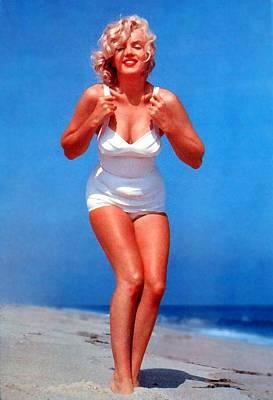 Digital Art - Marilyn Monroe 6 by Marilyn Monroe