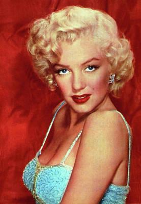 Digital Art - Marilyn Monroe 7 by Marilyn Monroe
