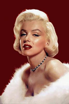 Digital Art - Marilyn Monroe 8 by Marilyn Monroe